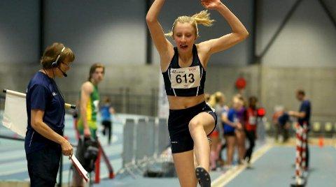 VANT: Ida Breigan gikk seirende ut av lengdekonkurransen.