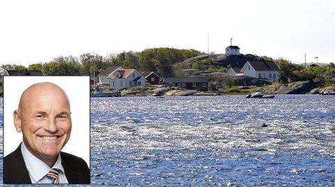 Kjøpte skjærgårdsparadis: Tom Erik Tidemann-Andersen kjøpte en eiendom til 14 millioner kroner på Herføl i fjor. Han hadde Hvalers høyeste formue det året.