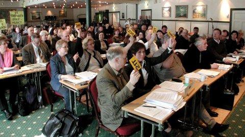 SA NEI: Fylkestingets medlemmer stemte nei til å gi Hålogalandsbrua AS bankgaranti. – Uheldig, sier ledelsen i selskapet. Arkivfoto