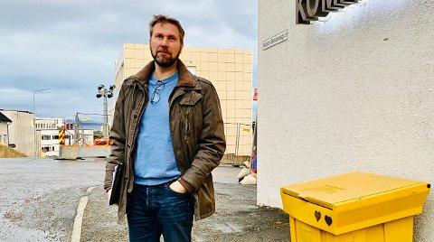 IMPORTSMITTE: Kommuneoverlege Jonas Holte bekrefter mandag at søndagens positive koronatilfelle kom fra Hammerfest.