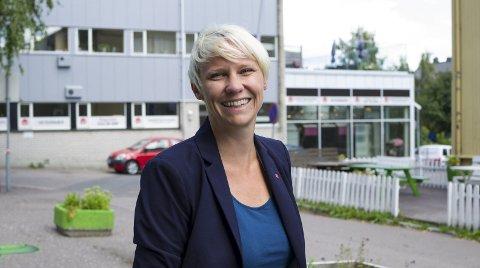 MARIA AASEN-SVENSRUD: Gruppeleder i kommunestyret, og nestleder i fylkespartiet. foto: MARTINE BILLING