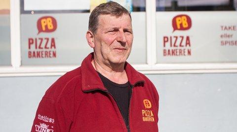 Tor-Jan Stokkedal eier de to Pizzabakeren-utsalgene på Ålgård.