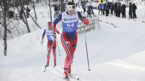 VANT: Barbro Kvåle vant norgescup-sprinten lørdag-