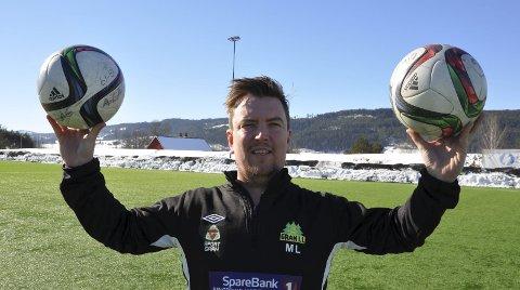 VIL OPP: Leder i Gran IL Fotball, Mikal Linstad, har en klar målsetting om opprykk til 3. divisjon.