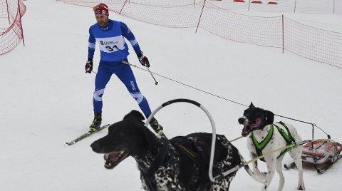INGEN KONGEPOKAL: Yngve Hoel ledet 20 kilometer flerspann i det lengste, men tapte mer enn ett minutt på de siste fem kilometerne og ble nummer to.