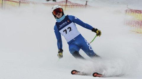 SATSER: Torjus Helgaker var fornøyd med egen innsats i Varingskollen lørdag.