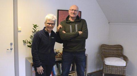 FIKK ET BEDRE LIV: Odd B. Hauge hadde stø kurs mot diabetes, skyhøyt medisinforbruk og en kropp som fungerte dårlig før han oppsøkte Sandra Li. Hennes livsstilsveiledning ble en aha-opplevelse for 64 åringen som nå er i bedre forfatning enn på veldig mange år. FOTO: FRANK  MORGAN BAKKEN