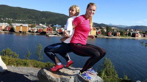 Trening: Sissel Bomnes Nevervei og Sissel Olsen har startet Body Complete. Firmaets første arrangement blir Jentecamp i Mosjøen 4.–6. september. Foto: stine Skipnes
