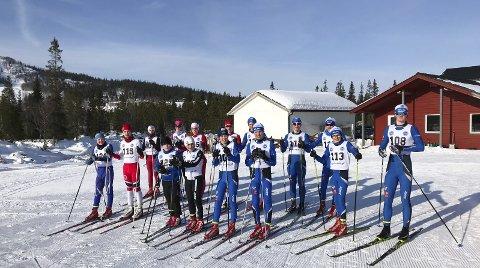 TESTLØP: De lokale løperne har forberedt seg godt, og sist helg var det testløp i NNM-løypene. Løpere fra MIL, Halsøy, Fiplingdal og Herringen møttes.  FOTO: PRIVAT
