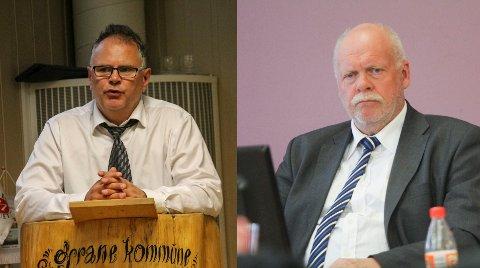ORDFØRERE: Bjørn Ivar Lamo og Jann-Arne Løvdahl har vært ordførere siden henholdsvis 2003 og 2001.