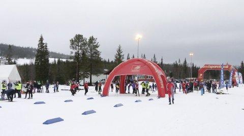 NYTT MESTERSKAP: Mosjøen IL Ski arrangerte et prikkfritt NNM i fjor. Nå oppfordres skiklubbene i Vefsn om å søke NM på ski.   Foto: Per Vikan