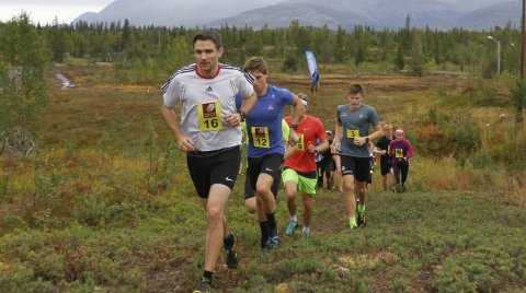 PÅ SJÅMOEN: I fjor startet den lange løypa på Sjåmoen og gikk ned til Kippermoen. I år er det både start og mål på Sjåmoen, og ei helt ny løype på 13 km. Foto: Per Vikan
