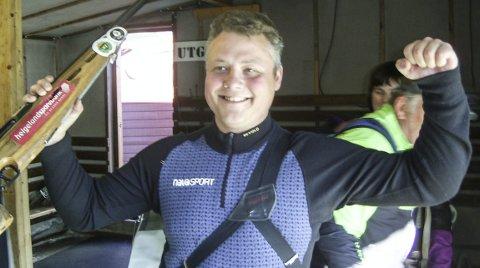 ÅTTENDE GANG: Skyting. Samlagsstevne feltskyting i Sandnessjøen. Marius Hagfors vant på nytt, det var det 8. feltmesterskapet til Marius.