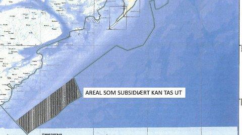 Gjennomslag: På bakgrunn av de borgerliges protokolltilførsel, er et havområde på grensen til Aust-Agder holdt utenfor nasjonalparken, for mulig havbruk.