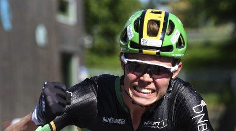 GOD PLASSERING: Erik Hægstad stod som nummer 42 på start, og syklet seg inn til en 21. plass under rundbane-VM i Canada.