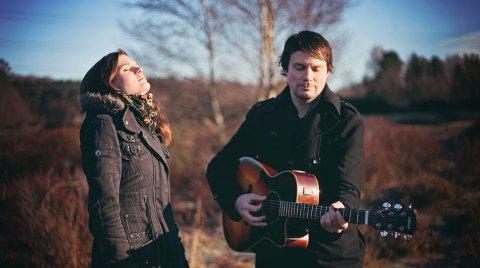 NY MUSIKK: Cathrine Witzøe og Ola Borglin utgjør duoen Indigorado. De jobber nå med sin første CD og slipper ny single i oktober.