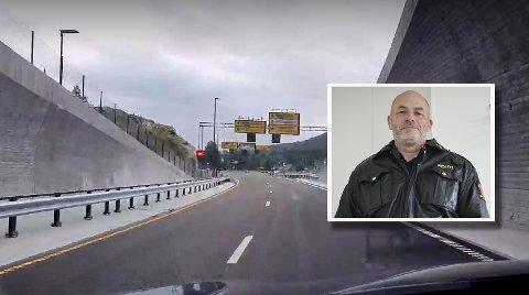 Kjell Eivind Rilvaag, leder for operativ seksjon i Kongsberg-politiet, sier de vil ha fokus på nye E134 framover.