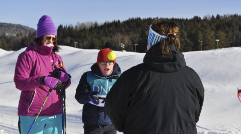 TRAFF BLINK: Anders Knutsen traff blink på skiskytingen under Miljøverkstedets verdensmesterskap på onsdag.