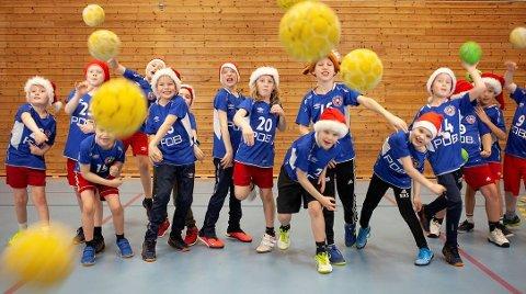 Vinnerbildet: Det var Reistad ILs gutter 2012-lag som gikk til topps i klubbens julefoto-konkurranse.