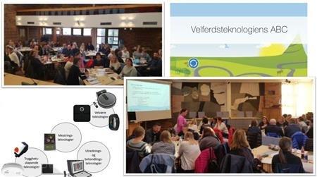 Oppstartsseminar i Velferdsteknologiens ABC i kommunestyresalen