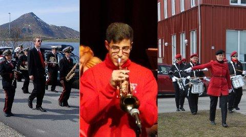 Vestvågøy janitsjar, Leknes skole- og ungdomskorps og Vest-Lofoten Paradetropp får 10.000 kroner hver fra Samfunnsløftet.