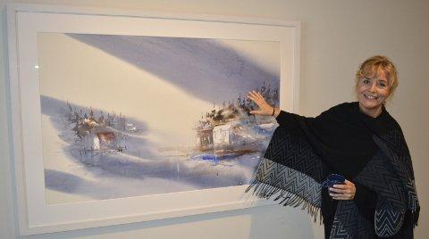 STORAKVARELLER: Kari Rindahl Endresen åpner utstilling på Galleri Henrik Gerner lørdag. Utstillingen står til 8. oktober.