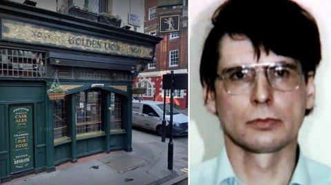 Dennis Nilsen drepte mellom 12-15 unge menn gjennom seks år. De fleste ofrene hentet han med seg hjem fra puber i London, slik som denne like ved turistbefengte Leicester Square.