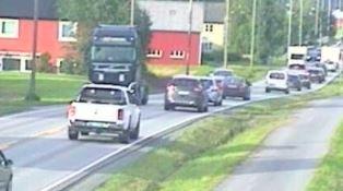 E6 Horg mot Lundamo.