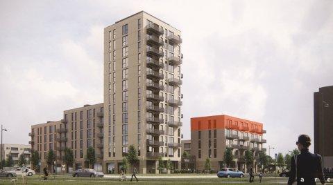 Et flertall i bygningsrådet sa tirsdag ja til den planlagte blokka på tomta til Migosenteret på Hallset. Planen skal til endelig behandling i bystyret.