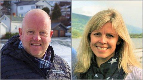 GLADE: Arne Jørgen Skurdal og Metere Hovi i henholdsvis Visit Innlandet og Visit Valdres er glade for at det nå åpnes for feriereiser innenlands.