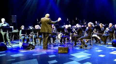 SØNDAG: Larvik Janitsjar er klare for å glede musikkinteresserte i Larvik.