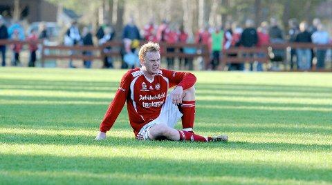 DAGENS GJEST: Ole Kristian Sagbakken har spilt for Tynset, Byåsen, Elverum og KIL/Hemne. Han er Rosenborg-journalist i Adressa og KIL-supporter. Bildet er fra en cupkamp i Tynset-drakta mot Rosenborg.