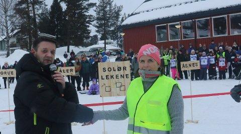KLART IGJEN: Det er klart for de andre Solør-lekene. Slik så det ut under premieren i fjor vinter.