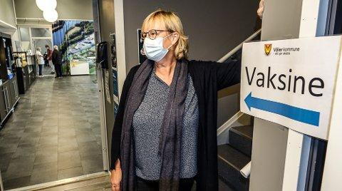 FÅR ROS: Helseleder i Våler, Siri Brunborg, får mye ros for hvordan hun har fått fatt på organisering av tiltak i koronatiden.