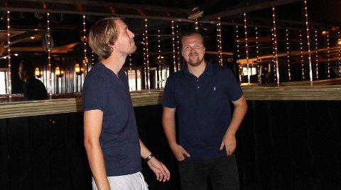 TOSPANN: Christian Sjøsaasen og Sondre Thorsen driver Torden i tospann.