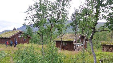SALTFJELLSTUA: Skribenten skriver blant annet om Saltfjellstua som ligger 20 kilometer inn i Saltfjellet-Svartisen nasjonalpark som ble opprettet i 1989.