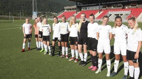 Jentesatsing: Klubbene i Rana gir et treningstilbud til jentespillerne i alle de lokale klubbene i sommerferien. Foto: Stian Forland