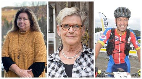 TRE OM VAKSINEN: Fra venstre: Ann-Mari Sørvig Pettersen, Karin Mathisen og Geir Nysveen.