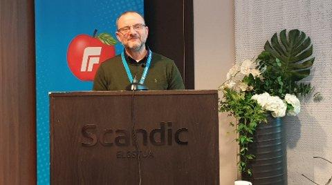 NYVALGT LEDER: Morten Kolbjørnsen fra Åmot er nyvalgt leder i Innlandet Frp. Foto: Frp