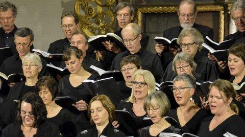 I fjor fylte Ringerike Vocalis kirken med himmelsk klang.