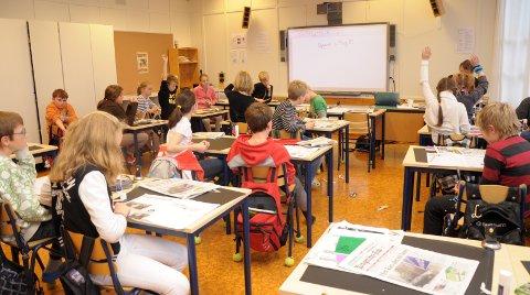 Bekymret: Jeg tror ikke vi noen gang har hatt mindre ressurser pr elev enn nå, skriver lærer Rune Kristiansen. Illustrasjonsfoto