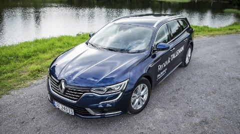 Vi synes Renault har truffet bra med designet på den nye stasjonsvognen.