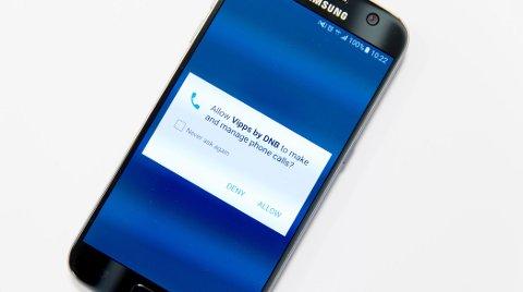 Hvorfor ønsker mobilbetalingstjenesten Vipps å få tilgang til å gjennomføre og administrere samtalene dine?