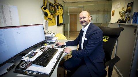 Underskudd: Daglig leder Robert Lauritsen i LSK er sikker på at klubbens regnskap ikke vil gå i balanse i år. Foto: Lisbeth Lund Andresen