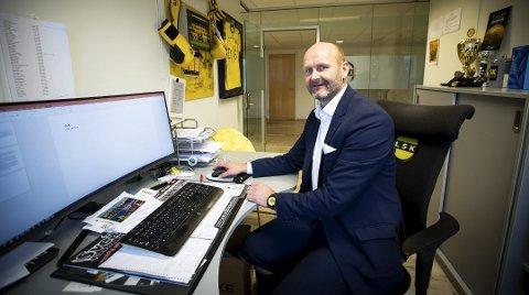 ENGASJEMENT: LSKs daglige leder Robert Lauritsen er meget godt fornøyd med engasjementet klubben opplever også i den situasjonen landet er i nå.