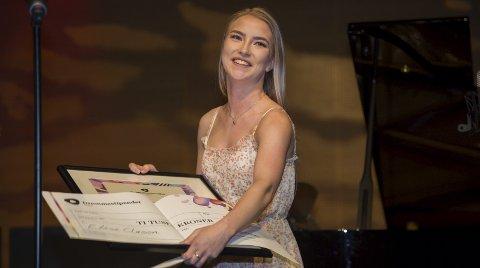 STIPENDVINNER: – Et stort skritt på veien mot å nå drømmen om å bli en profesjonell danser og koreograf, sier Elise Clason om å bli tildelt Drømmestipend.