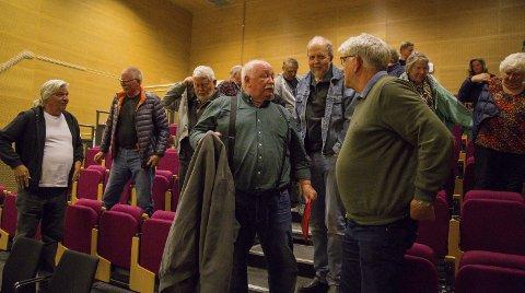 SKUFFET: John Arntsen med flere var skuffet over at Riksantikvaren foreslår å bare delvis frede Engene dynamittfabrikk på Sætre.
