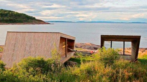 SLIK: Det er noe slikt Oslofjorden friluftsråd kan tenke seg å få til. Her fra Østre Bolærn i Vestfold.