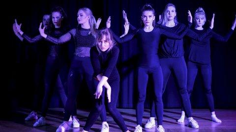 På scenen: Dansegruppa Fusion har også tidligere gjort det bra i UKM. Alle foto: Marta Murawska (UKM Vestfold)
