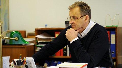 Forsvarer: Advokat Erik Bryn Tvedt representerte den tiltalte i retten. Tiltalte møtte ikke i rettssaken. Arkivfoto